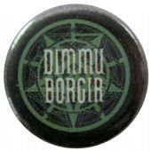 Dimmu Borgir - 'Circle Logo' Button Badge